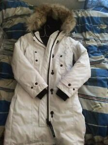 Canada Goose Kensigton parka white XXS Women - perfect condition