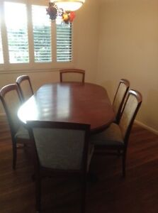 Timber extension table  6/8 seater Aspley Brisbane North East Preview