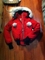 Manteau Moose Knuckles rouge small