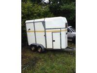 Bateson Boston 55 double horse trailer