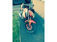 Barely Used Kymco Moterbike with new chain and battery 150.99