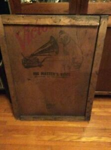 RCA VICTOR CRATE PANEL