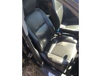 Focus leather seats