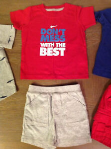 Boys Nike, Carter, Childrens Place - 5 items all for $10