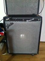 Amplificateur basse Fender Bassman 60 annees 80 impeccable amp