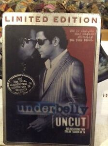 UNDERBELLY' UNCUT DVD.  LIMITED EDITION. Adelaide CBD Adelaide City Preview