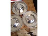 Puppy feeding bowls X 3....