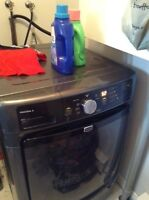MAYTAG Washer and dryer set (you can use as stackable)