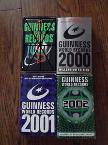 Guinness Book Of World Records Collection $10 OBO
