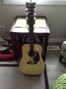 New Robson Acoustic Guitar with Soft Case