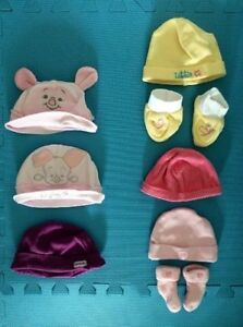 Baby girl hat 3 month and 6 months hat - gentle used