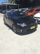 2009 Kia Cerato TD MY10 Koup Black 5 Speed Manual Coupe East Maitland Maitland Area Preview