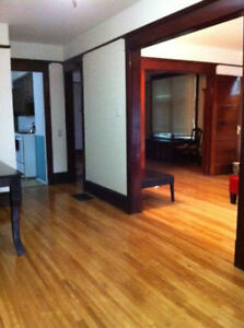 Available now or April 1st - 2 bedrooms downtown duplex