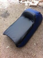 Boat and skidoo leather and vynle seat repair