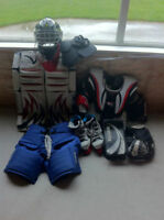 Atom/Pee-Wee Goalie Equipment