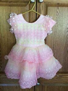 Pretty Pink Dress - Little Girls Size 4