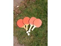 Table tennis bats X 4