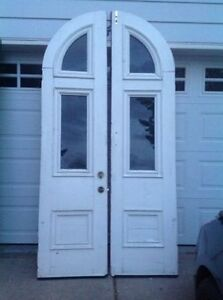 Antique Double Doors price dropped to $775.00