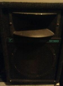 Yorkville M160 pa monitors non powered