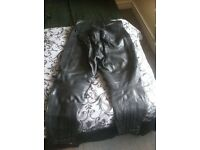ladies belstaff leather trousers size 18