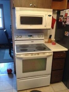 Maytag stove and microwave/exhaust