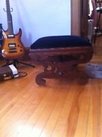 Large Footstool/Ottoman (guitar not included)