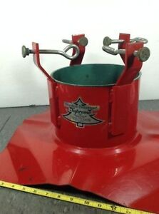 Santa's Solution Supreme metal Christmas Tree Stand Cambridge Kitchener Area image 2