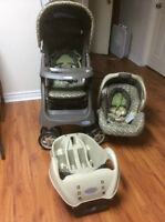 Never Used Graco Travel system ( Lowery) / Systeme de voyage
