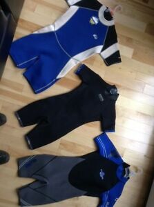 Wet Suits.  great Christmas gift for water sports