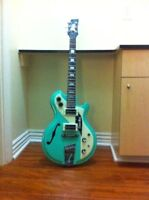 Italia Mondial Res-O-Glas Electric Guitar w/ Lollar Humbuckers