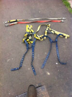 2 Safety harness and 2 Lanyard
