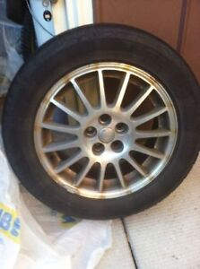 205 60R16 tires with rims