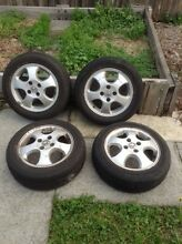 Holden Astra/Barina/Cruze 14' alloy mag and tires Ringwood Maroondah Area Preview