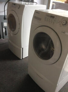 "SAMSUNG 27"" FRONTLOAD WASHER AND DRYER SET"