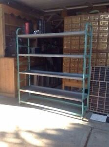 Industrial Vintage Cart -Great bookcase or clothes rack