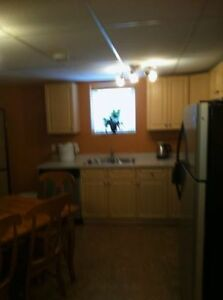 Timberlea 2 BR Basement Suite Furnished FIRST MONTH FREE