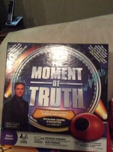 The Moment of Truth Board Game! London Ontario image 1