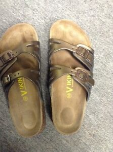 Viking like Birkenstock shoes sandals size 38 or 7.5-8