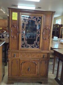 Krug Bros Company Ltd Antique Display Cabinet Fonthill ReStore