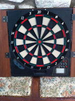 """electric dart board """"never used"""" 35$"""