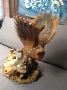 Vintage Hand Carved Eagle Bacchus Marsh Moorabool Area Preview