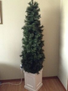 6 ft Slim Artificial Tree