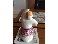 Royal Doulton Highland Snowman figure in immaculate condition, no chips or cracks £25
