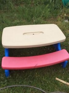 Little TIkes Easy Fold picnic table