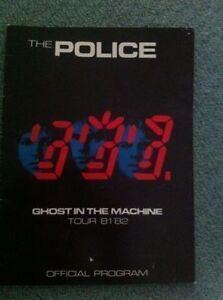 The Police memorabilia
