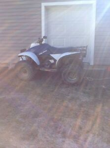 1991 Polaris 250cc four wheeler 2 stroke