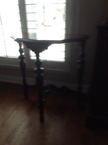 Antique Demi lune table