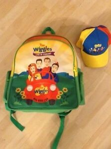 Wiggles Hat and Backpack