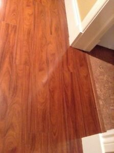 $400 obo. Approx 135ft of absolutely gorgeous laminate flooring