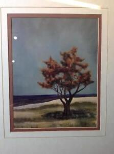 2 x double matted v-groove tree prints Cambridge Kitchener Area image 4